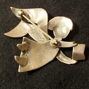 James Avery Jewelry - Retired James Avery Singing Angel Silver Pin